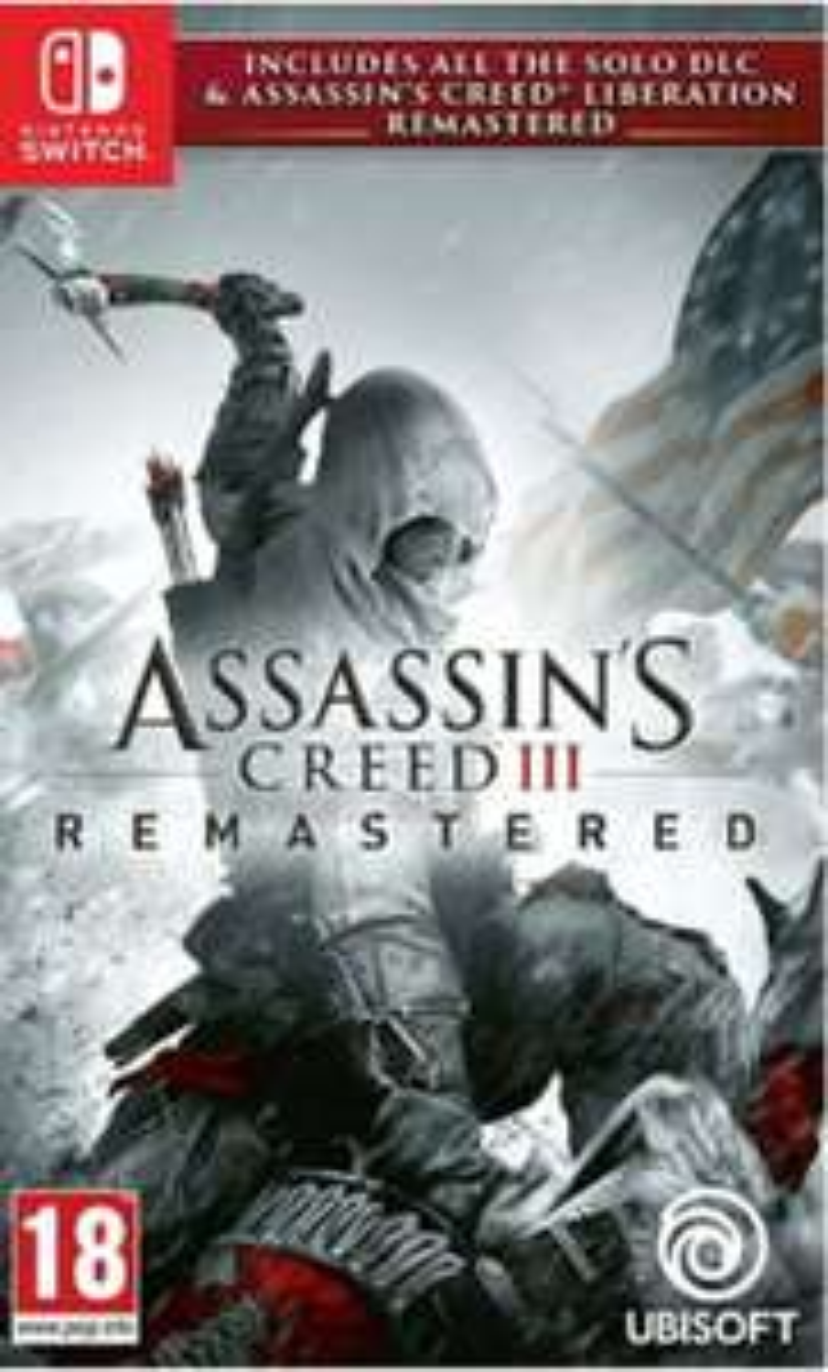Assassins Creed 3 Remastered für Nintendo Switch