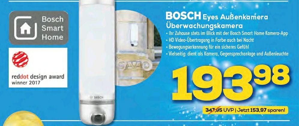 Euronics Hoheneggelsen - Bosch Smart Home Außen Kamera Eyes !