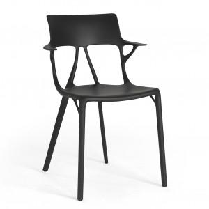 Kartell A.I. Stuhl in allen Farben, Design von Philippe Starck + künstlicher Intelligenz (Entwickler Autodesk) [wohn-design.com]