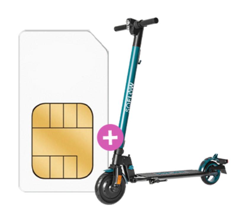 Telekom Debitel Green LTE mit 26GB und Soflow e-scooter für 29,99€ monatlich, effektiv 20€ monatlich, günstiger als SIM Only
