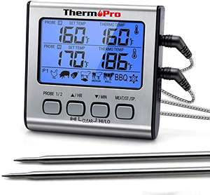 ThermoPro TP17 Digitales Grill-Thermometer [Prime]