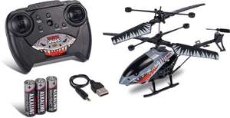 Carson Nano Tyrann Shark 200 2.4G 100% RTF, RC Helikopter, inkl. Batterien & Fernsteuerung für 17,55€ (Müller Abholung)