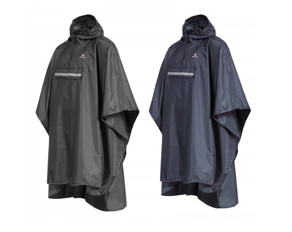 Höhenhorn LIVRIO Regencape / Regenjacke für Herren und Damen in Dunkelblau oder Schwarz