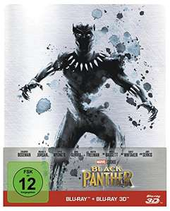 Black Panther 3D Limited Steelbook Edition (3D Blu-ray + Blu-ray) für 13,64€ (Amazon Prime)