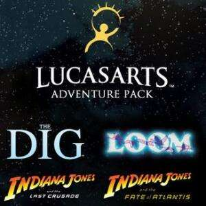 LucasArts Adventure Pack Indiana Jones: Fate of Atlantis + Last Crusade + Loom + The Dig (Steam) für 1,02€ (Eneba)
