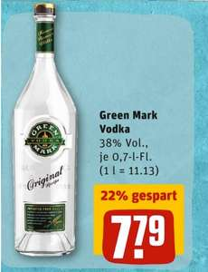 [REWE] Green Mark Vodka 0,7l