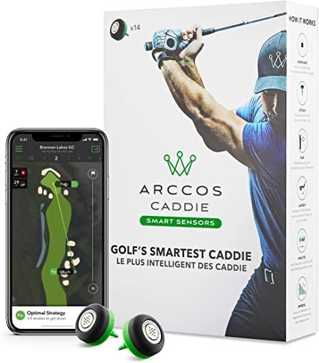 14 Arccos Caddie Sensoren für Ping-Spieler