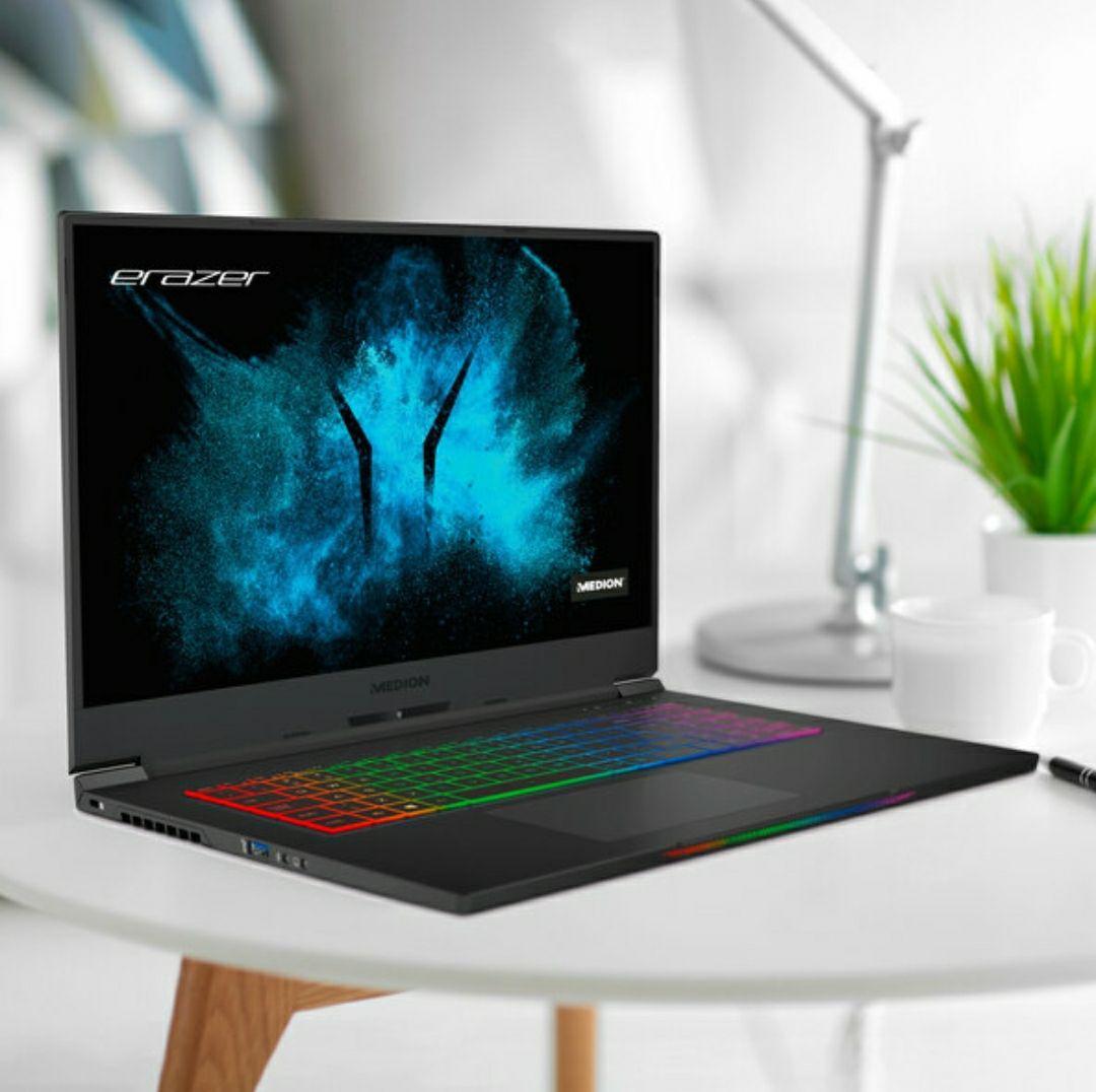 """[Aldi online ab 13.09.] Medion Erazer Beast X10 Laptop (17"""", 300 Hz FullHD, Core i7 10750H, Nvidia RTX 2070 Super Max-Q (?), 32 GB RAM, RGB)"""