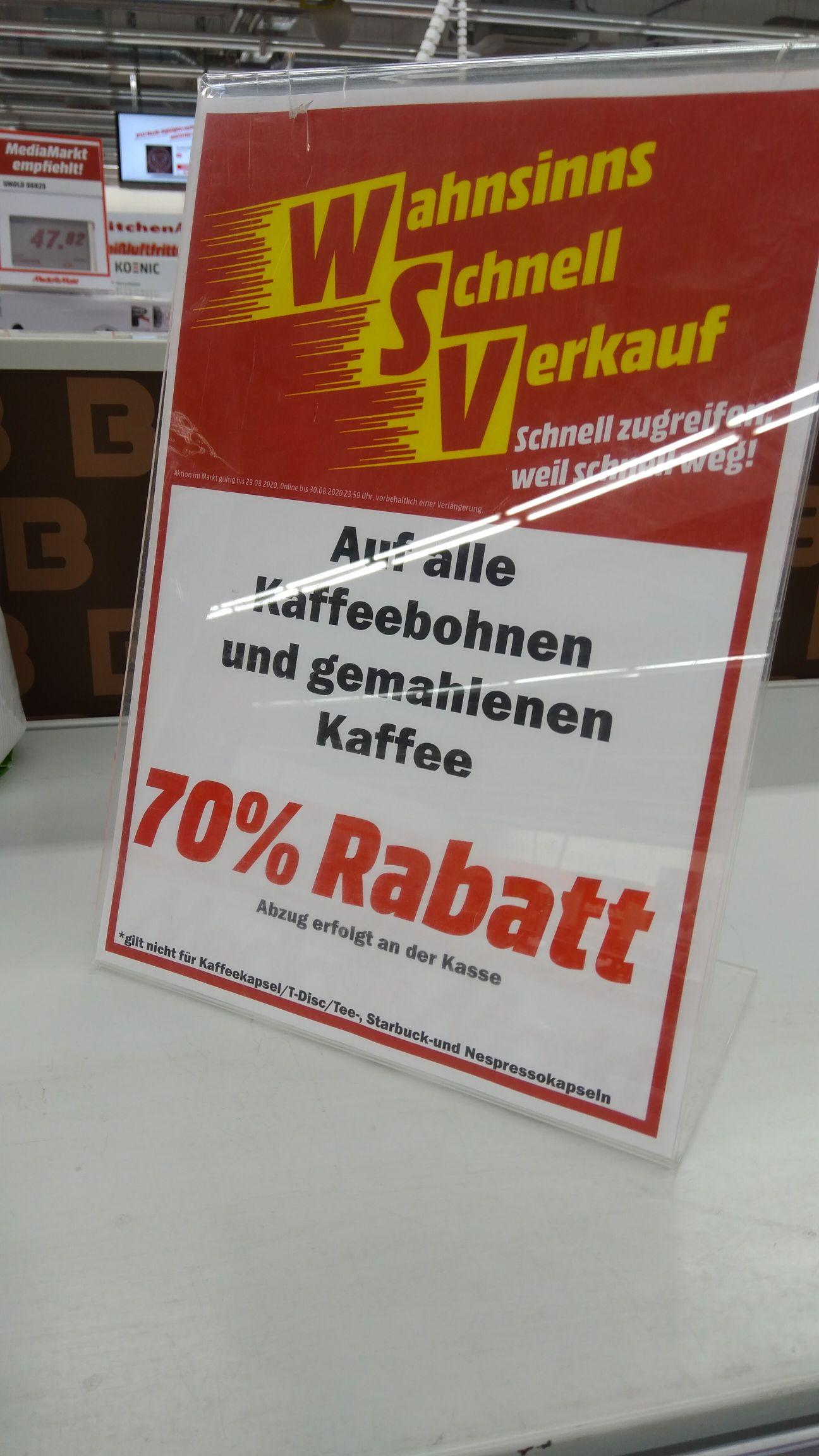 [Lokal Leipzig] Mediamarkt Kaffee -70%