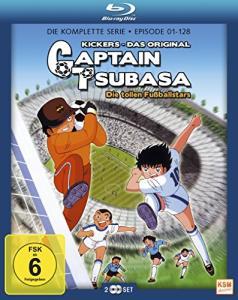 Captain Tsubasa - Die tollen Fußballstars Limited Gesamtedition Episode 01-128 (Blu-ray) für 35,99€ (Amazon & Thalia & bol.de)