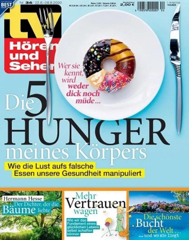 TV Hören + Sehen Abo (53 Ausgaben) für 116,90 € + 115 € BestChoice-Universalgutschein oder 120 € Otto-/Zalando-Gutschein (Kein Werber nötig)