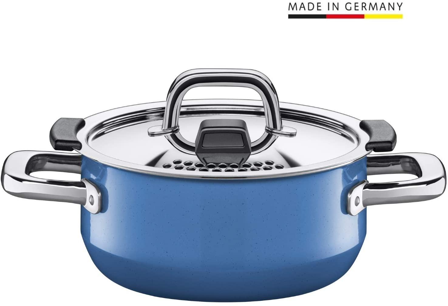 WMF-Sammeldeal: z.B. Silit Nature Blue Bratentopf 16cm - 59,95€   WMF Kinderbesteck-Set Janosch - 24,95€   WMF Moto Salatschüssel-Set - 25€