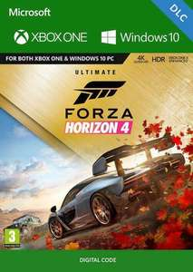 Forza Horizon 4: Ultimate-Add-Ons-Bundle (Xbox One/PC Play Anywhere) für 17,69€ (CDKeys VPN UK)