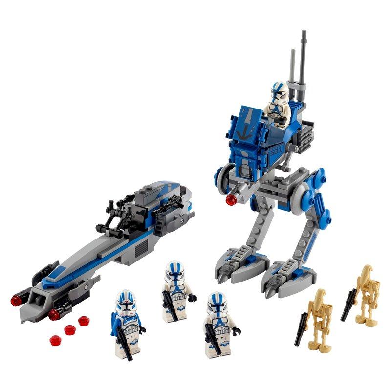 LEGO Star Wars - 75280 Clone Troopers der 501. Legion [www.lucky-bricks.de]