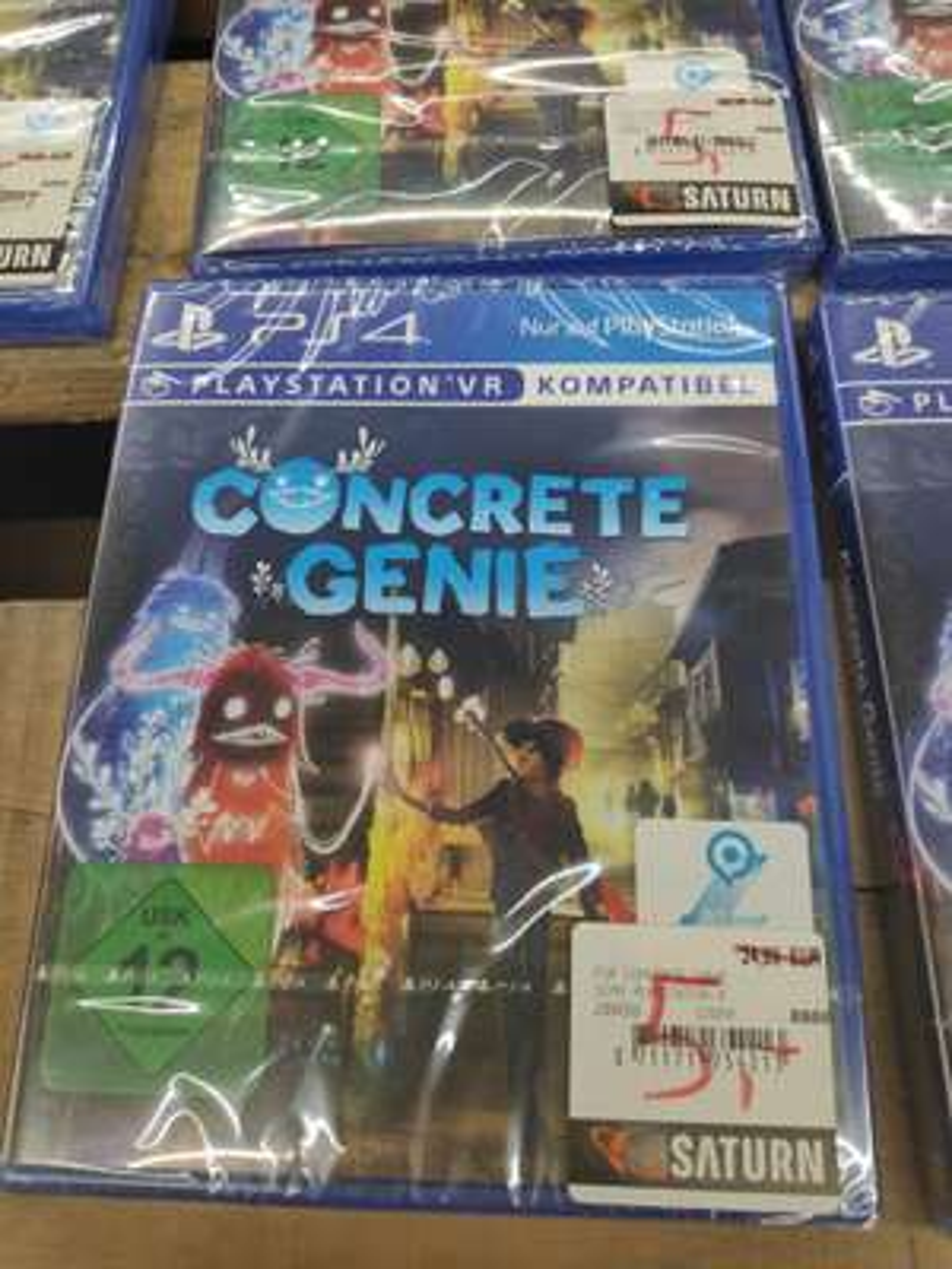 Lokal - Concrete Genie PS4 Saturn Bielefeld