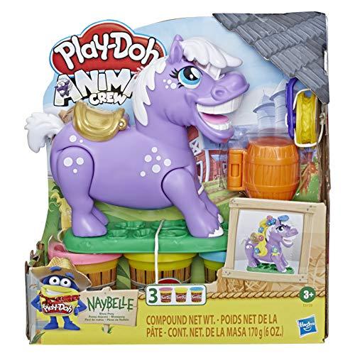 Hasbro Play-Doh - Animal Crew Naybelle Showpony inkl. drei Dosen Knete für 8,52€ (Amazon Prime)