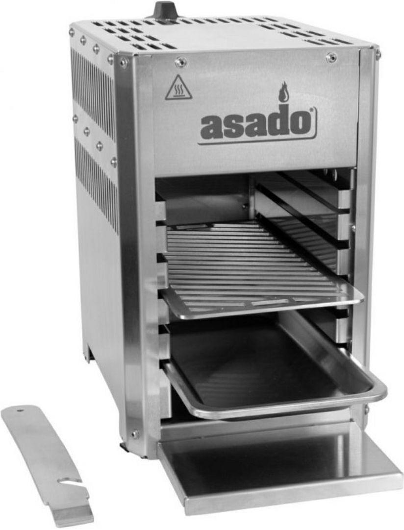 Asado Hochtemperaturgasgrill 800° Compact