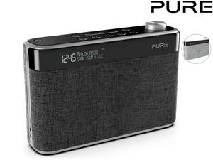 """PURE Bluetooth Digitalradio """"Avalon N5"""" (DAB/DAB+ und UKW Radio, Weckfunktionen, 10 Senderspeicherplätze, AUX) [iBOOD]"""