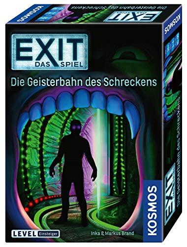 KOSMOS EXIT - Das Spiel - Die Geisterbahn des Schreckens, Level: Einsteiger, Escape Room Spiel für 6,69€ (Amazon Prime)