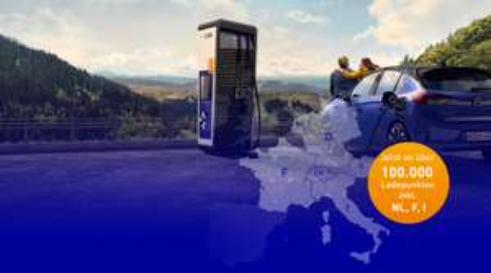 Ab sofort über EnBW in halb Europa ab 0,29€ das Elektroauto laden