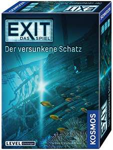 Kosmos - EXIT - Das Spiel - Der versunkene Schatz, Level: Einsteiger, Escape Room Spiel für 8€ (Amazon Prime & Media Markt