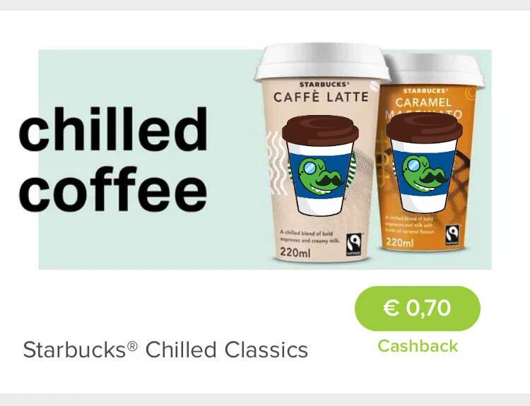 Marktguru: Starbucks® Chilled Classic 0,70€ Cashback (5x einlösbar)