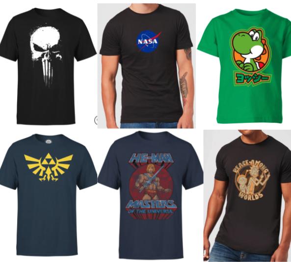 3 T-Shirts für 27€ + gratis Versand - (Auswahl aus 6360 Shirts)