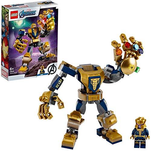 LEGO Marvel Avengers - Thanos Mech (76141) für 8,59€ (Amazon Prime & Media Markt Abholung)