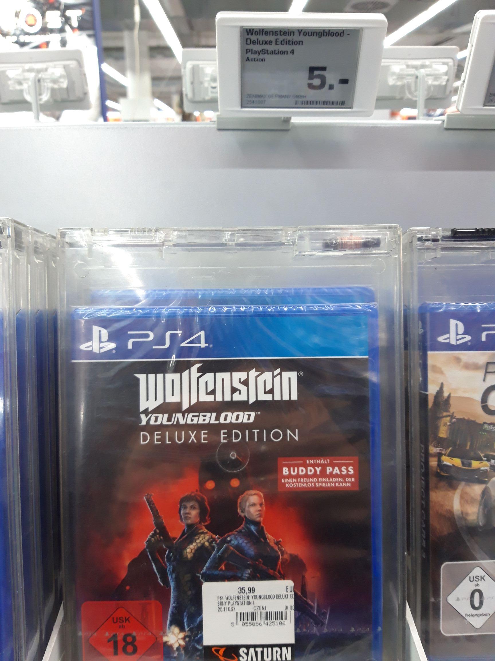 Lokal Saturn Wuppertal - Wolfenstein Youngblood Deluxe Edition für PS4
