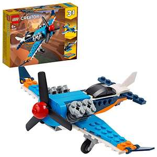 LEGO Creator 3-in-1 Propellerflugzeug, Düsenflieger, Hubschrauber (31099) für 7,56€ (Amazon Prime & Saturn Abholung)