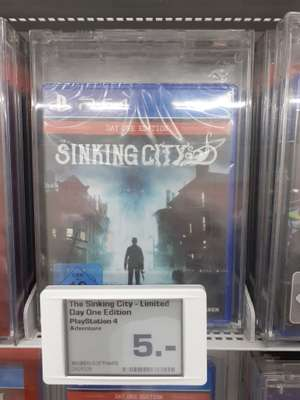 (LOKAL Saturn Saarbrücken) The Sinking City [Day 1 Edition, PS4] für 4,87 Euro, uvm.