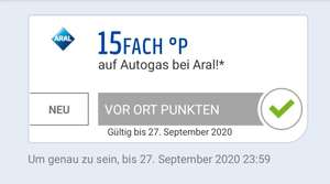 (Personalisiert )15fach Autogas Coupon Payback