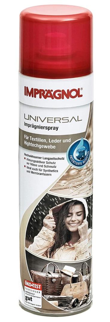 Imprägnol Spray Wetterschutz für Leder, Textilien, Hightechgewebe 400ml PRIME