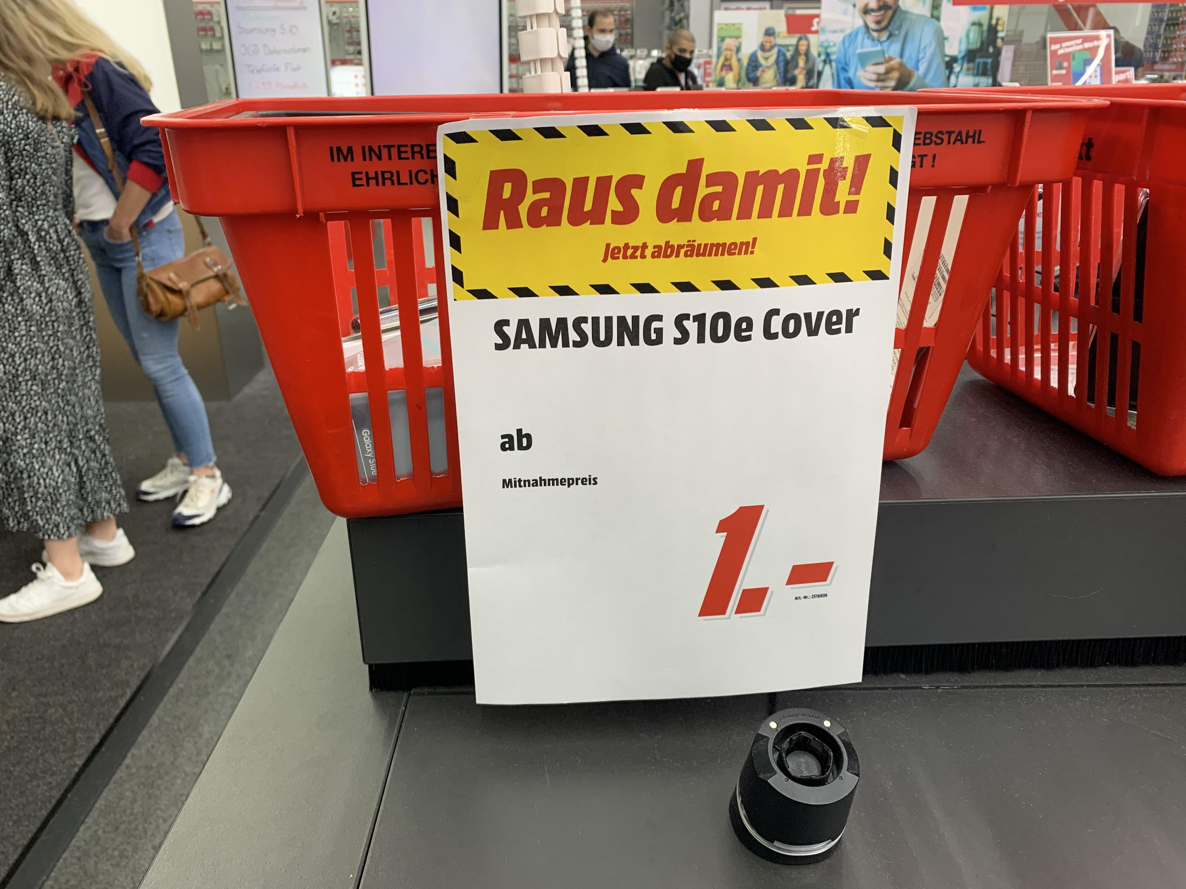 Samsung Galaxy S10e Cover [LOKAL MM ULM]