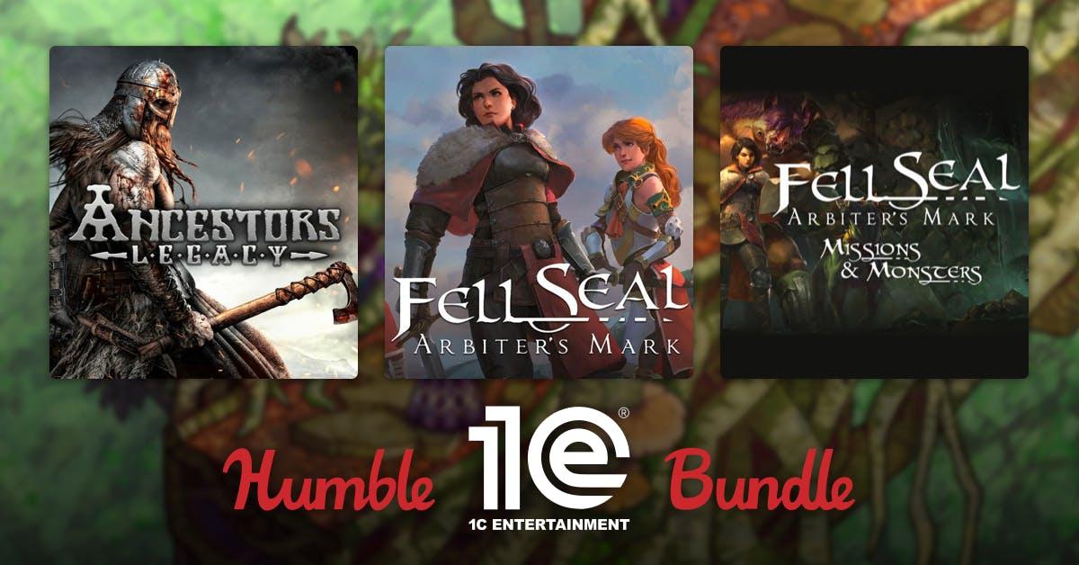 Humble 1C Publishing Bundle (Humble Bundle, Steam) Shiny, Realpolitiks, Stygian, Ancestors Legacy