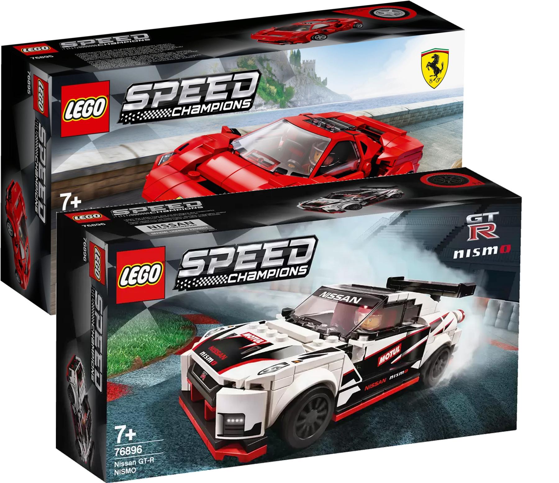 Lego Speed Champions 76895 und 76896 für zusammen 20,82€