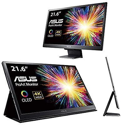 ASUS ProArt PQ22UC 54,86cm (21,6 Zoll) Professional OLED Monitor (4K, HDR10, 10 bit nativ, 0,1ms, abnehmbarer Standfuß)