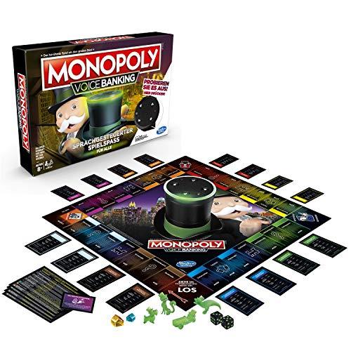 Hasbro Gaming - Monopoly Voice Banking, sprachgesteuerter Familienspiel für 16,40€ (Amazon Prime)