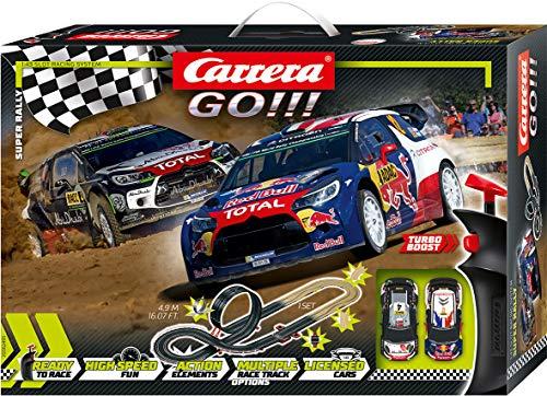 Carrera GO!!! Super Rally Autorennbahn Set für 34,52€ (Amazon & Saturn Abholung)