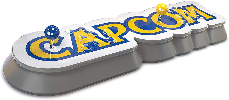 Capcom Home Arcade Retro-Konsole - WLAN, HDMI, inkl. 16 Videospiel-Klassikern (z.B. Street Fighter 2, Mega Man, Alien vs. Predator)