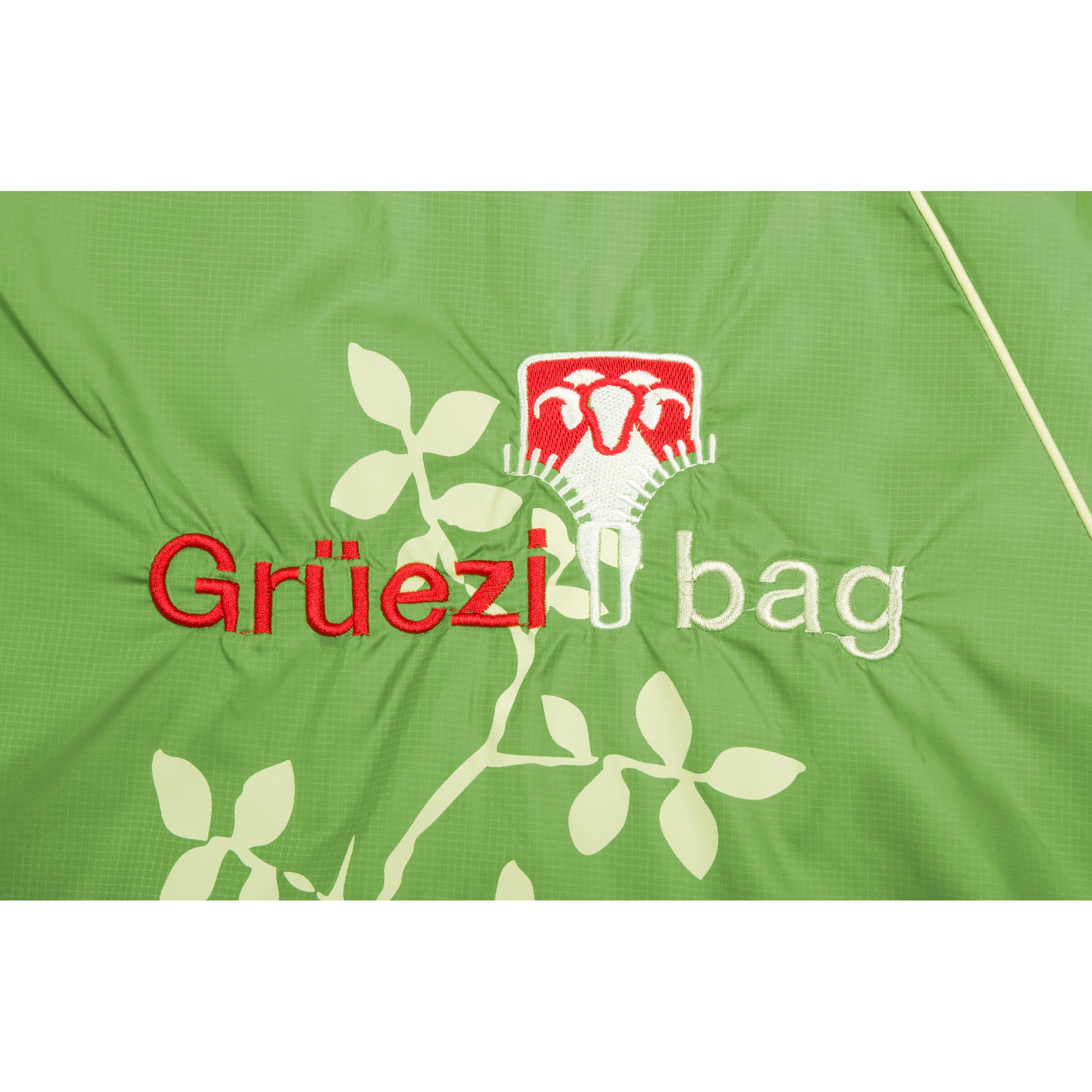 Grüezi-Bag Cloud Decke Reh III Schlafsack - spring green - 225 x 80cm