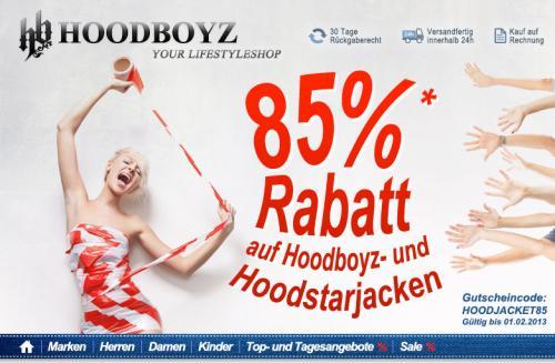 85% Rabatt auf Hoodboyz und Hood Star Jacken