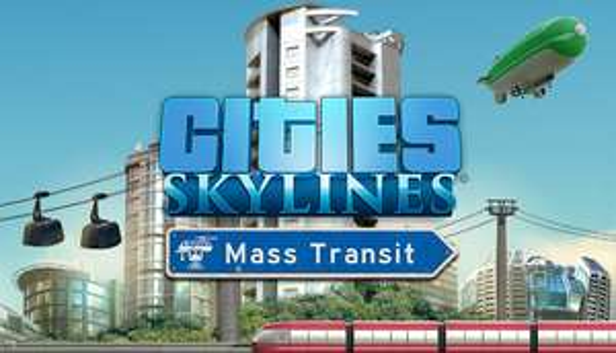 Cities Skylines - Mass Transit DLC (Steam-Key)