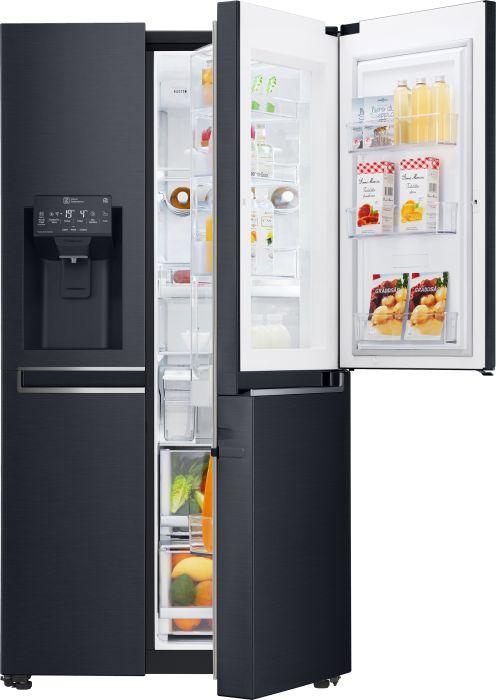 LG GSJ961MTAZ Side-by-Side (A++, 405l Kühlen, 196l Gefrieren, Door-in-Door, Wasser- & Eiswürfelspender, NoFrost, Inverter-Kompressor)
