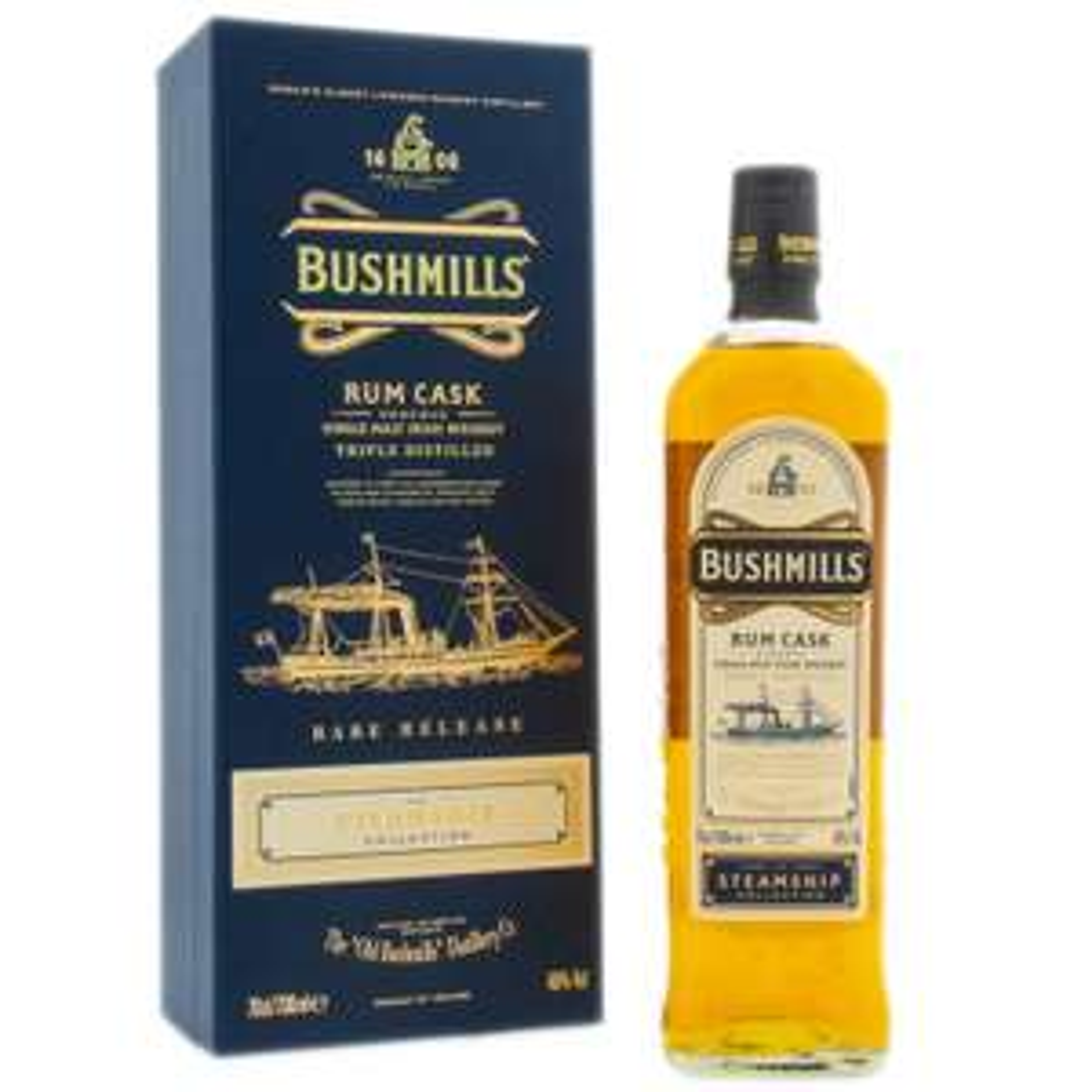 Bushmills Steamship Collection Rum Cask. Single Malt Irish Whiskey