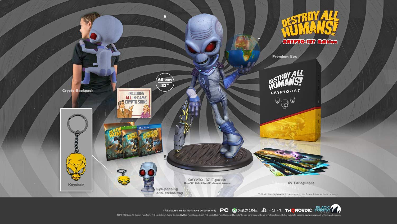 Destroy All Humans! Crypto-137 Edition - Xbox One für 260,49€ (Amazon.it)