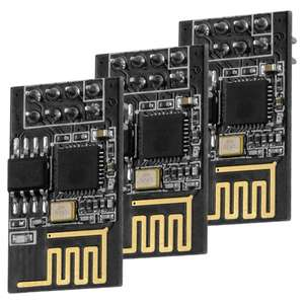 3x esp8266 ESP-01S / WLAN / WiFi / arduino