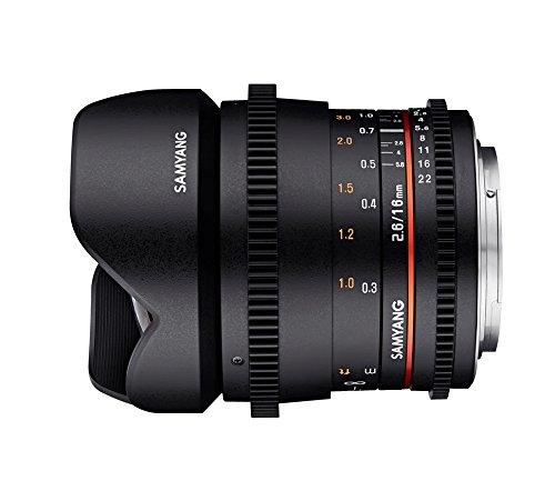 Samyang MF 16mm T2.6 Video DSLR MFT