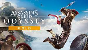 [PC Uplay] Assassin's Creed Odyssey Gold Edition : Spiel + Season Pass + AC III & AC Liberation Remastered