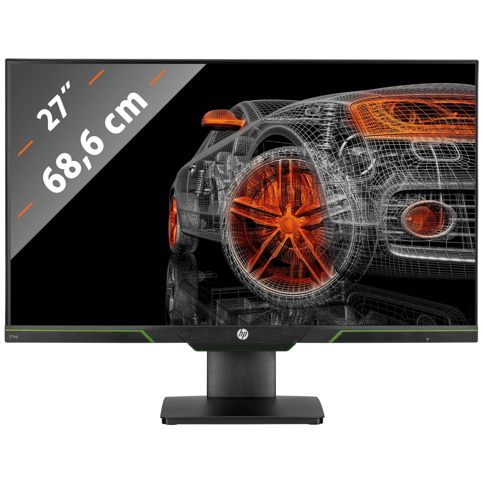 B-Ware HP 27xq Monitor 27 Zoll 144Hz 1ms WQHD